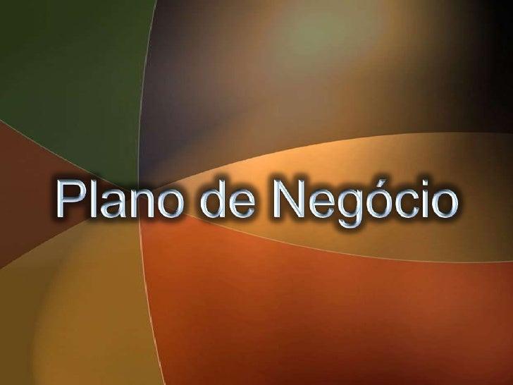 Plano de Negócio<br />