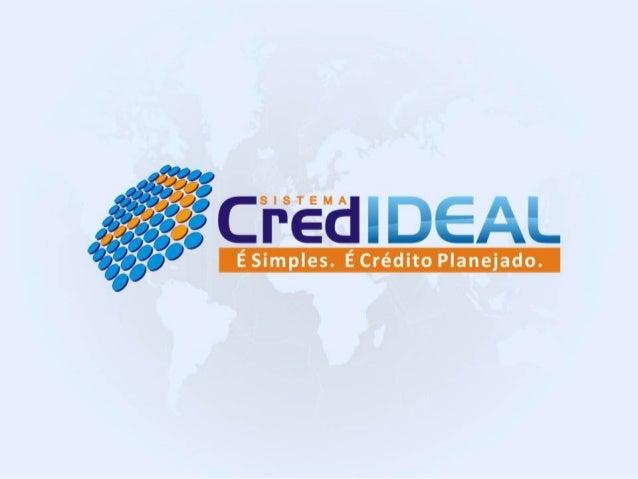 Apresentação credideal pdf