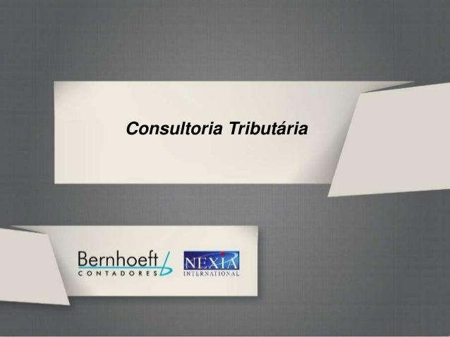 GRT BERNHOEFTConsultoria Tributária