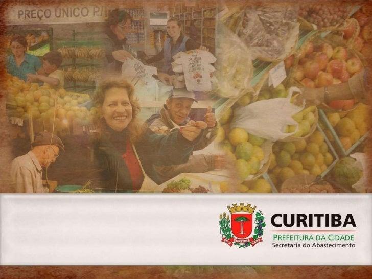 """SECRETARIA MUNICIPAL DO ABASTECIMENTO                            Missão """"Promover o abastecimento de alimentos, associado ..."""