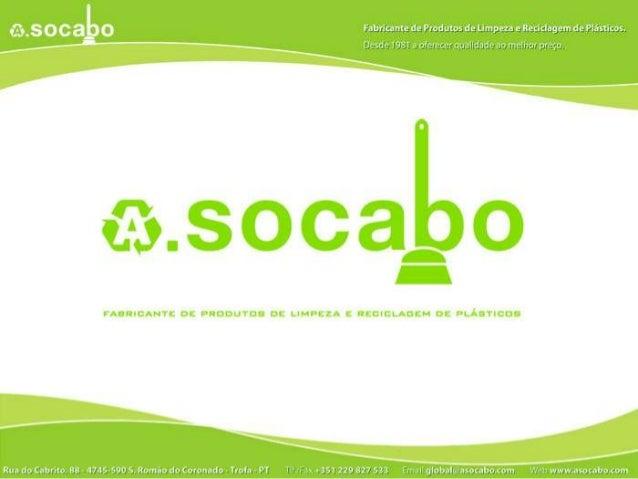 Apresentação da A. Socabo - Luciano Alves & Cª, Lda.