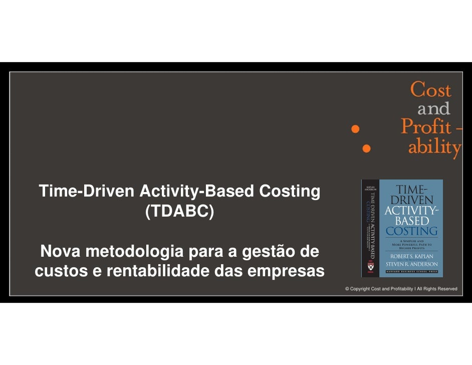 Cost and Profitability - Francisco Aires