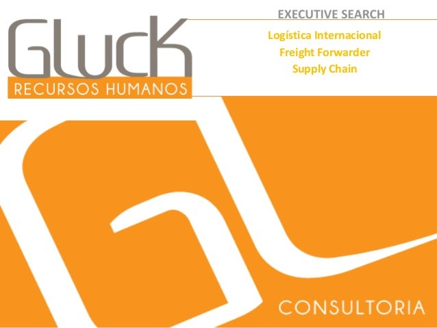 1  Logística Internacional  Freight Forwarder  Supply Chain