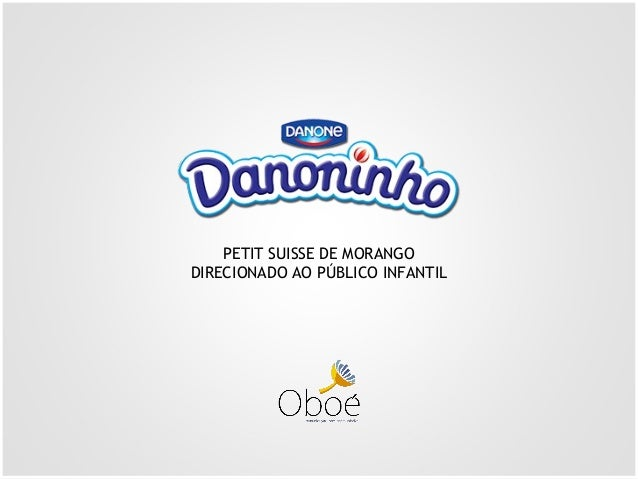 PETIT SUISSE DE MORANGO DIRECIONADO AO PÚBLICO INFANTIL
