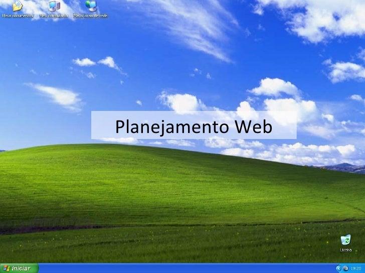 Planejamento Web
