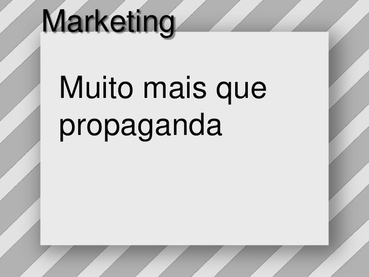 Marketing<br />Muitomaisque propaganda<br />