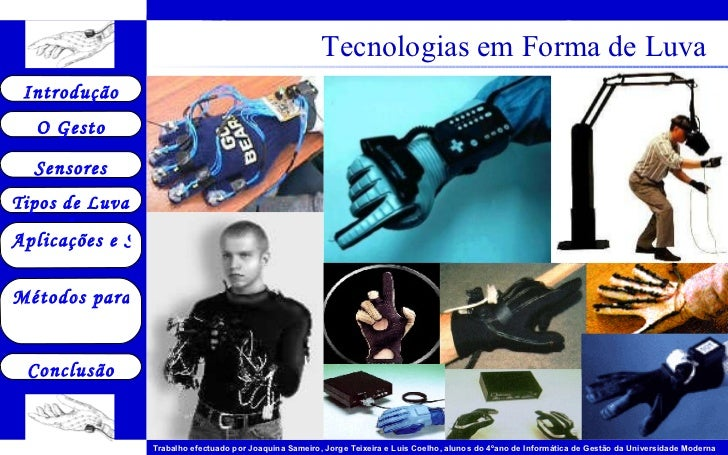 Tecnologias em Forma de Luva