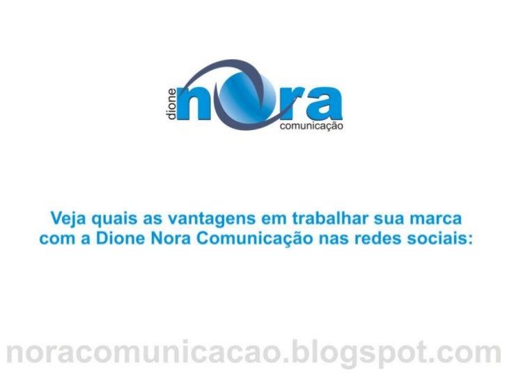 Apresentação das vantagens do marketing digital nora comunicação