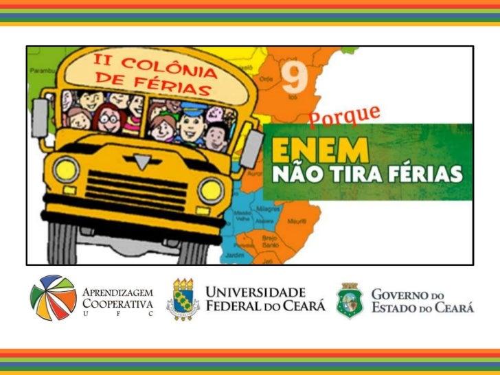 Universidade Federal do Ceará   A UFC é uma instituição de ensino superior que ésustentada por um tripé: ensino, pesquisa ...