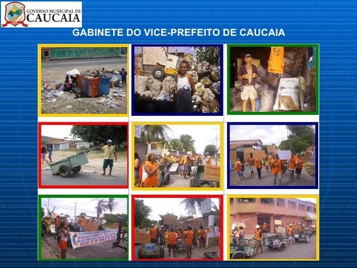 GABINETE DO VICE-PREFEITO DE CAUCAIA