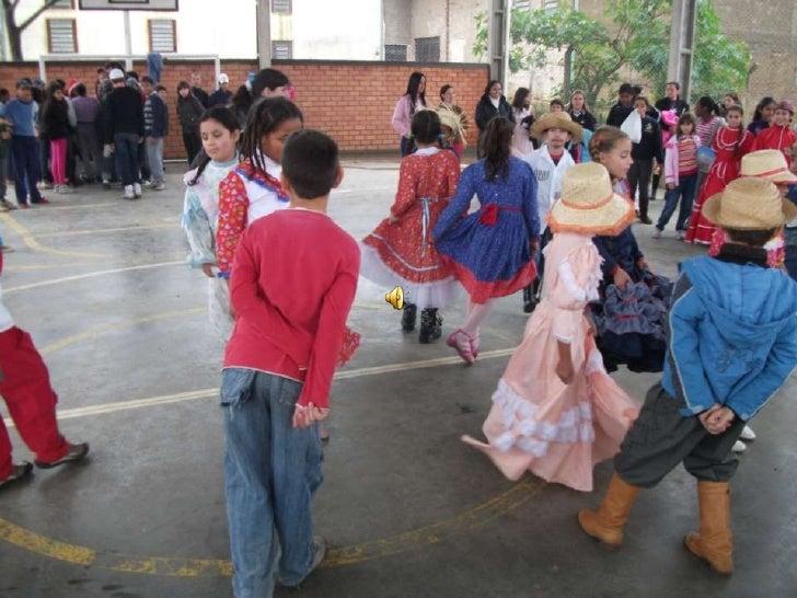 Apresentação de dança o balaio