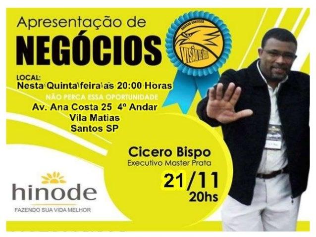 A HINODE conseguiu Juntar as quatros ferramentas que Mais geram lucros no mundo dos Negócios no Brasil e No Mundo 1-Market...