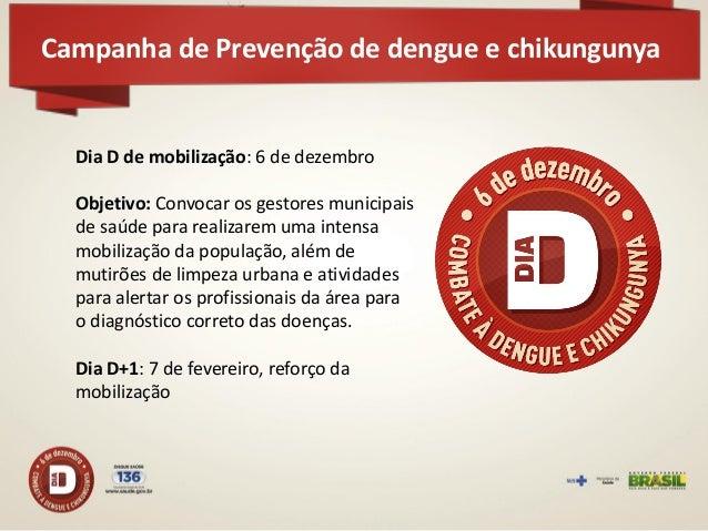 Material de divulgação para gestores e profissionais de saúde  Campanha de Prevenção de dengue e chikungunya