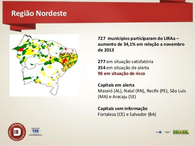 Região Nordeste  Depósitos Predominantes  78,8% em armazenamento de água  Armaz. Água  Depósito  Domiciliar  Lixo  76  18...