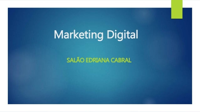 Marketing Digital SALÃO EDRIANA CABRAL