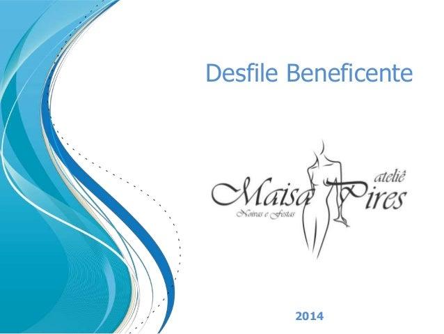 Desfile Beneficente 2014