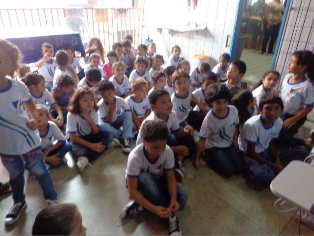 Palestra sobre os direitos das crianças