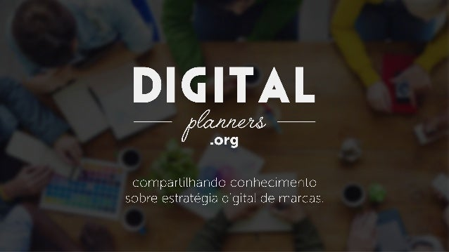 Palestra DigitalPlanners.Org