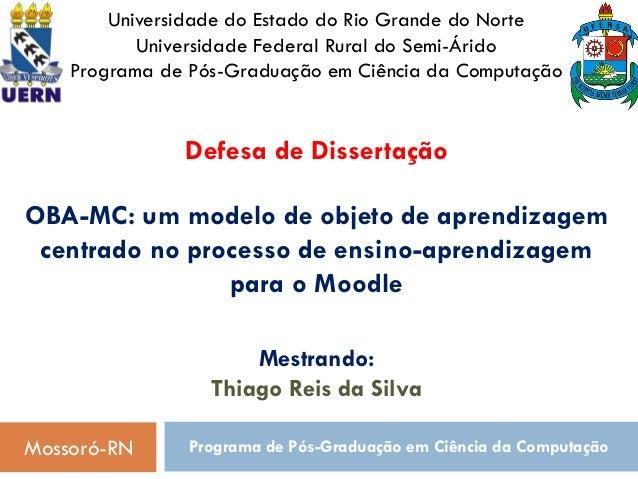 Universidade do Estado do Rio Grande do Norte           Universidade Federal Rural do Semi-Árido    Programa de Pós-Gradua...