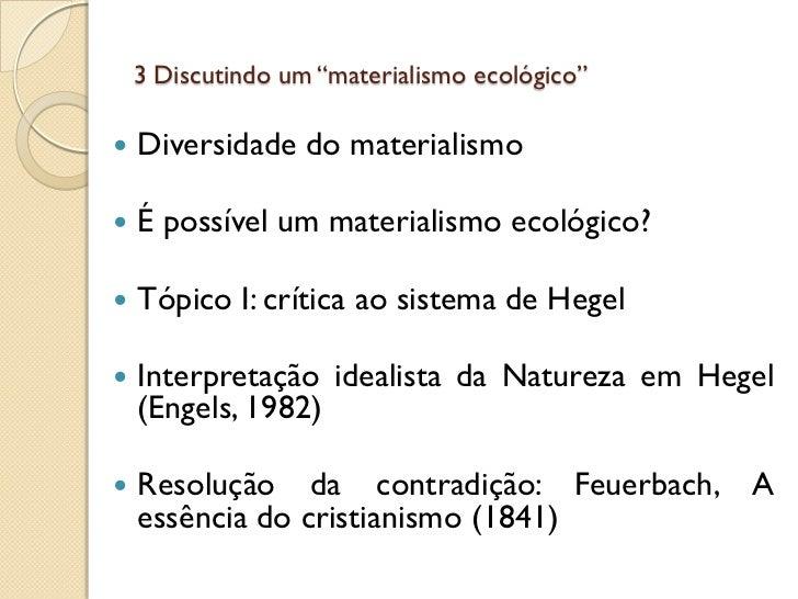 Apresentaç u00e3o diversidade no pensamento de friedrich engels~ Ideias De Hegel
