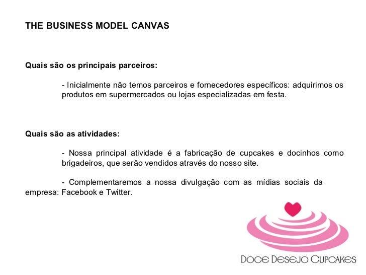 Apresentação Doce Desejo Cupacakes - MBA Marketing Digital Faculade IDEZ Slide 3