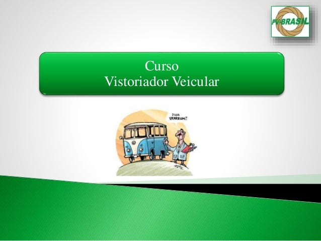 Curso Vistoriador Veicular