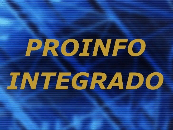PROINFOINTEGRADO