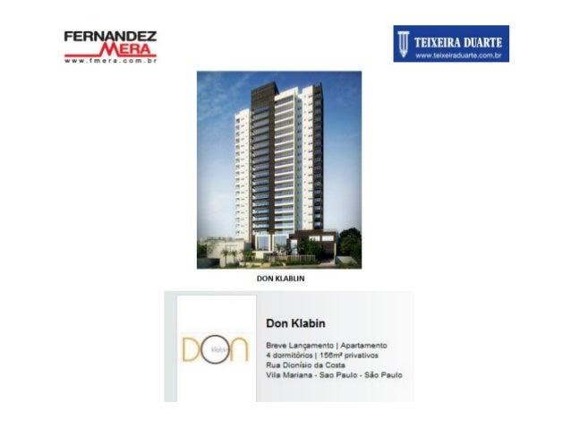 Don Klabin - Vila Mariana - 1 torre, 156m², 4 dorms, 3 vagas