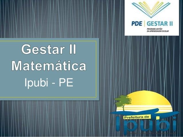 Ipubi - PE