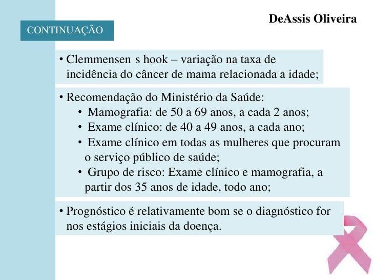 ApresentaçãO Do SemináRio Sobre CâNcer De Mama Slide 3