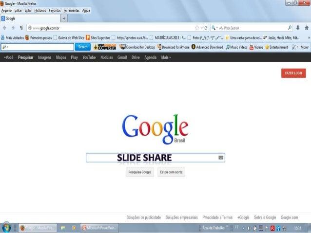 Apresentação do slide share rubenita