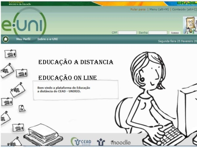 Educação a DistanciaEducação on line