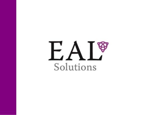A EAL Solutions é uma assessoria empresarial comserviços que atendem empresas em diversos estágios esegmentos de atuação; ...
