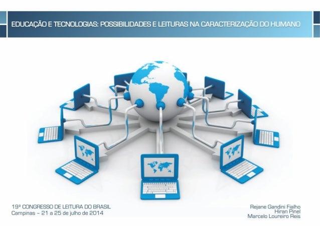 Apresentação educação e tecnologia possibilidades