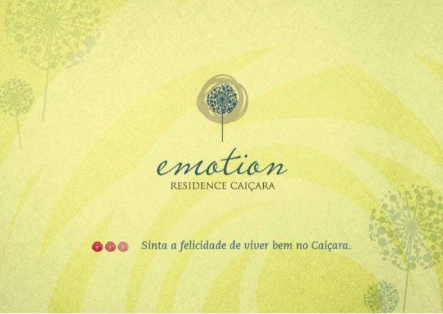 Emotion Residence Caiçara - Apartamento no Caiçara BH. Direcional Engenharia