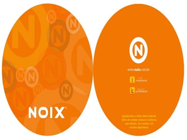 Apresentação e portifolio noix internet 2013
