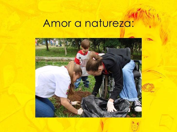 Amor a natureza: