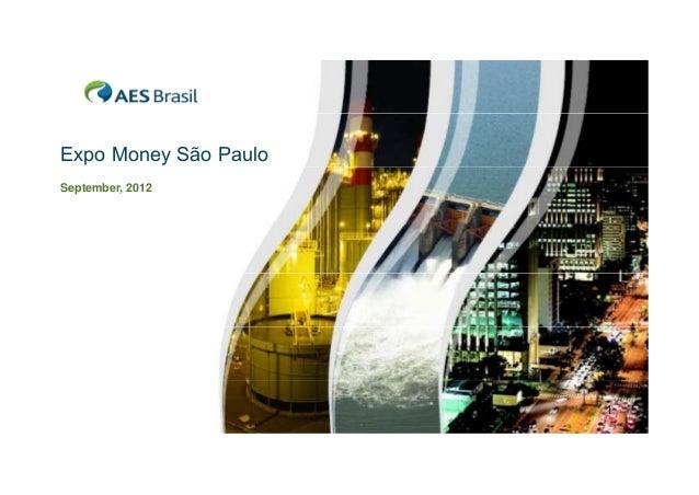 Expo Money São Paulo September, 2012  1