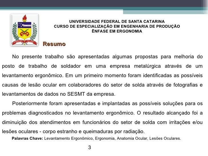 Apresentação TCC Fernando Espírito Santo - UFSC Slide 3