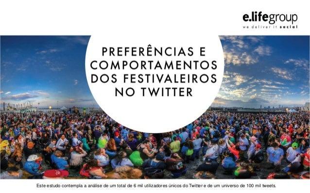 Este estudo contempla a análise de um total de 6 mil utilizadores únicos do Twitter e de um universo de 100 mil tweets.