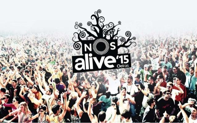 """A recolha de dados, referente ao termo """"NOS Alive"""", foi feita de 21 de maio a 26 de agosto de 2015. Este público é globali..."""