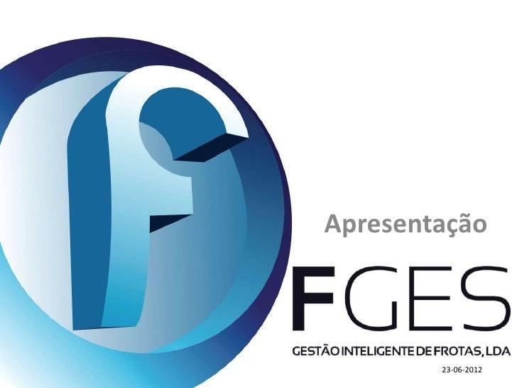 Apresentação        23-06-2012