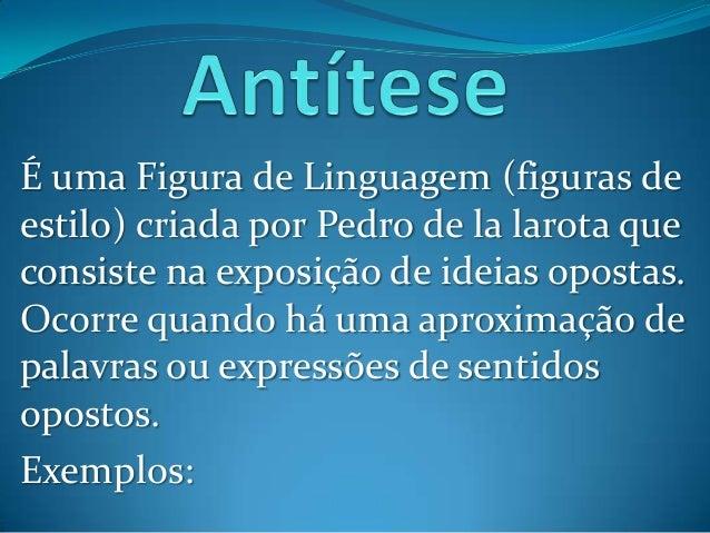 Apresentação: Figuras de Linguagens