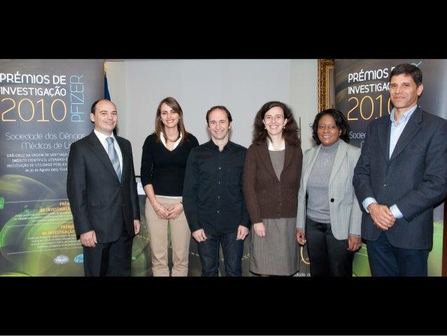 Vencedores dos Prémios Pfizer/SCML 2010 - Fotos da Conferência de Imprensa (11/11/2010)
