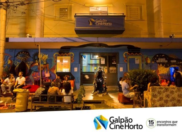O Galpão Cine Horto, Centro Cultural do Grupo Galpão, em Belo Horizonte, é um espaço comprometido com a pesquisa, a formaç...