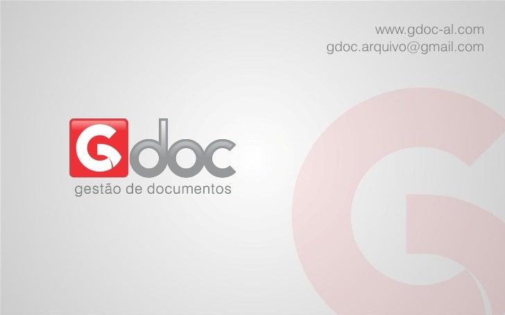 www.gdoc-al.comgdoc.arquivo@gmail.com