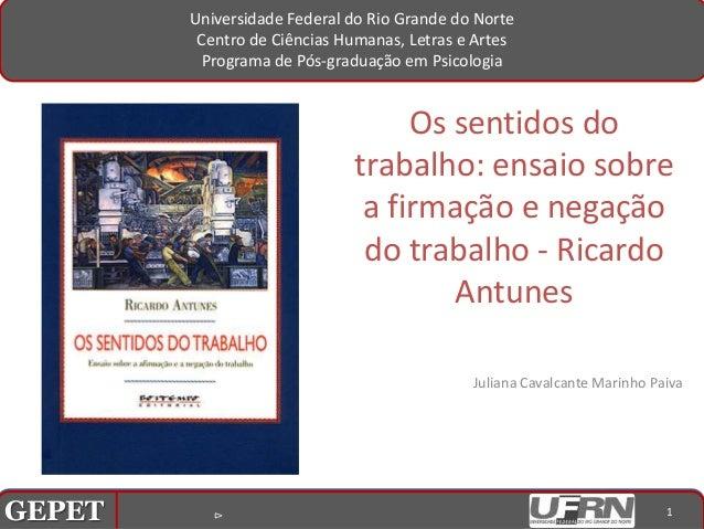 Universidade Federal do Rio Grande do Norte                        Centro de Ciências Humanas, Letras e Artes             ...