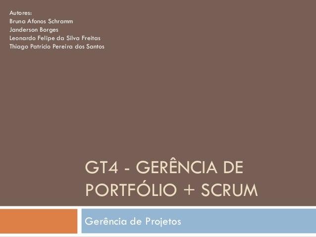 Autores:Bruna Afonos SchrammJanderson BorgesLeonardo Felipe da Silva FreitasThiago Patrício Pereira dos Santos            ...