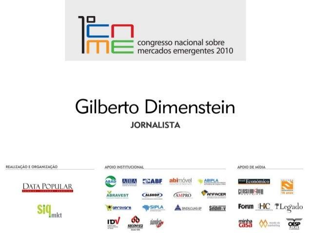 www.datapopular.com.br INOVAÇÃO E CULTURA EMERGENTE