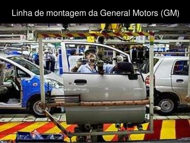 Linha de montagem da General Motors (GM)